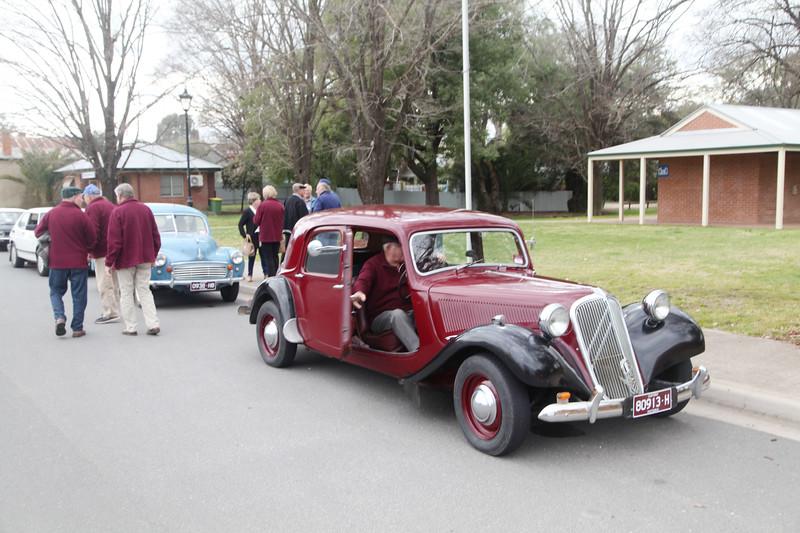 Murray Heritage Car Club Beechwoth Gaol Tour.  15Sep 2019.