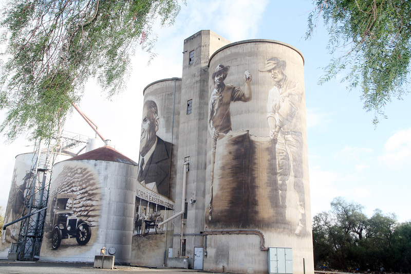 Wednesday Wanderers Silo Tour.  29 May 2019.