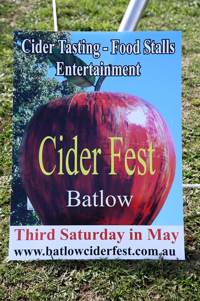 Batlow at Ciderfest Time.
