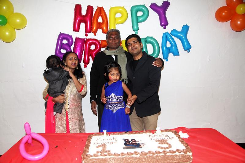 Krish & Kristy's Birthday party 2018.