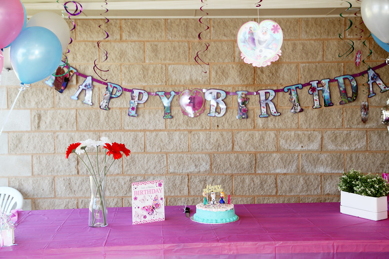 Pia's 4th Birthday Party.