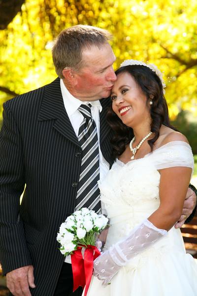 Kenny & Rosie Bowen's wedding day.