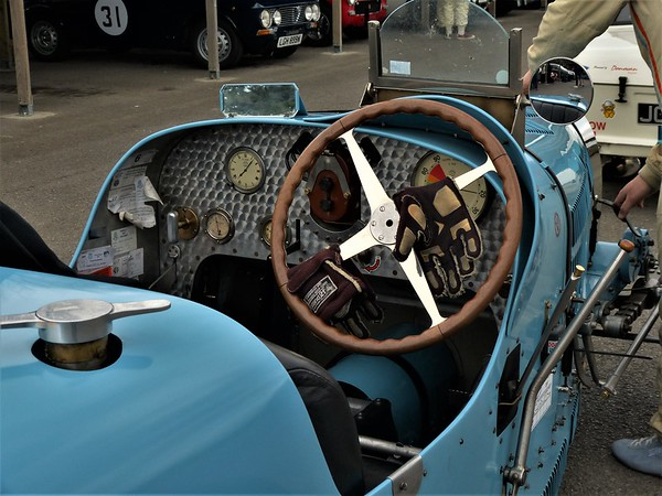 Bugatti GP car ready to race