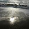 sunlight on the beach