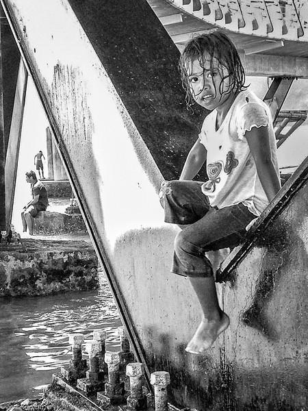 """Suz Karchmer, """"Under the Pier, Puerto Vallarta,"""" iPhone 5"""