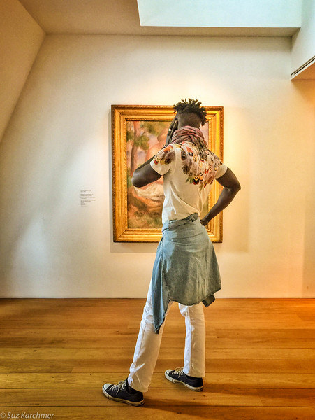 "Suz Karchmer, ""Framed (Picasso Museum, Paris),"" iPhone 6+"