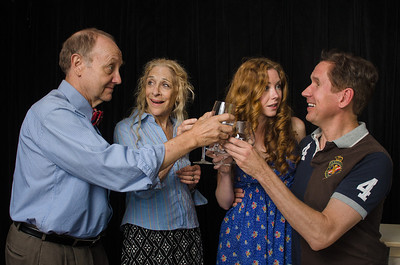 """Wellfleet Harbor Actors Theater July 2012 Production of """"Saving Kitty"""" (Written by Marisa Smith; Directed by Rand Foerster) [Photo by KarchmerPHOTO (Michael and Suz Karchmer)]"""
