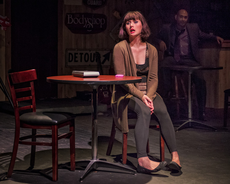 "Crystal Arnette in ""The Consequences"" [Photo by Michael Karchmer]"