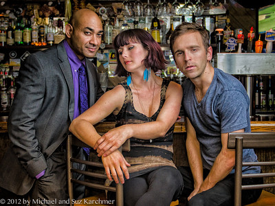 "Promotional photograph of cast of ""The Consequences,"" a production of Wellfleet Harbor Actors Theater  in 2012"