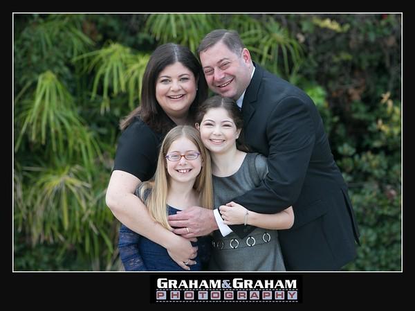 Bat Mitzvah family portrait CTJ Manhattan Beach