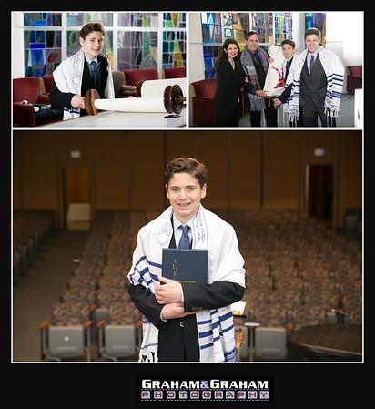 University Synagogue Bar Mitzvah portraits, Los Angeles