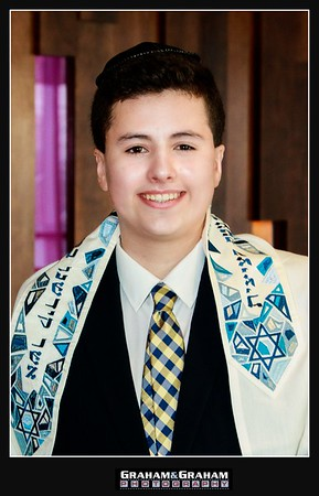 Bar Mitzvah portrait, Graham and Graham Photography