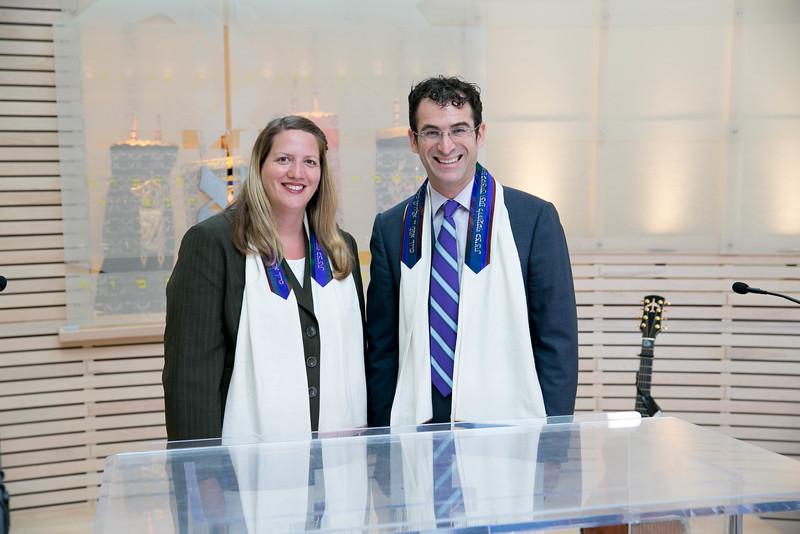 Cantor Lonee Frailich and Rabbi Zachary Shapiro, Temple Akiba
