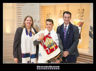 Los Angeles Bar Mitzvah Photographer - Temple Akiba Culver City
