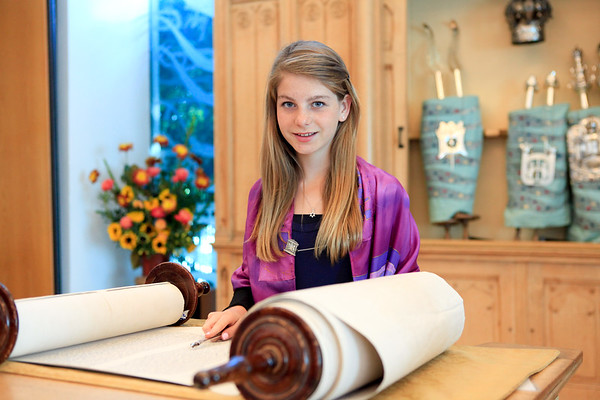 Los Angeles Bat Mitzvah Photographer - Wilshire Blvd. Temple