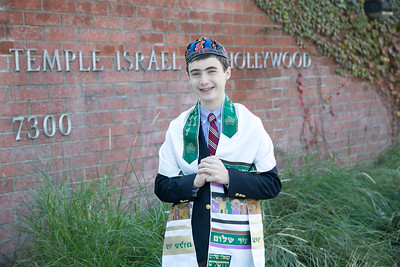 Los Angeles Bar Mitzvah Photographer - Temple Israel of Hollywood