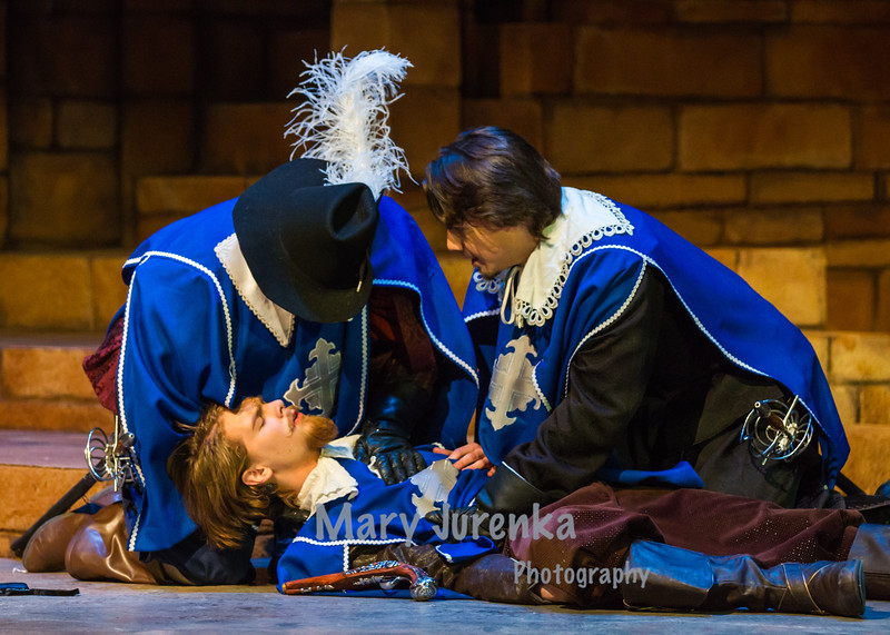 "ISU Theatre Presents, ""The Three Musketeers."""