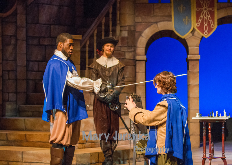 "Iowa State Theatre Presents, ""The Three Musketeers."""