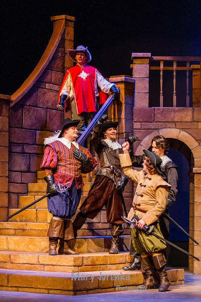 "ISU Theatre Presents. ""The Three Musketeers."""