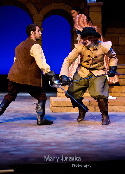 "ISU Theatre Presents ""The Three Musketeers."""