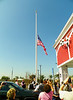 Farrell's always has a flag raising at their grand openings