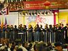 Large choir; beautiful