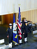 U.S. Naval Sea Cadet Corps Color Guard, from the front