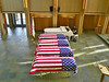 ...but four homeless veterans who will be interred at Riverside National Cemetery