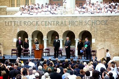 The Little Rock Nine 50th Anniversary