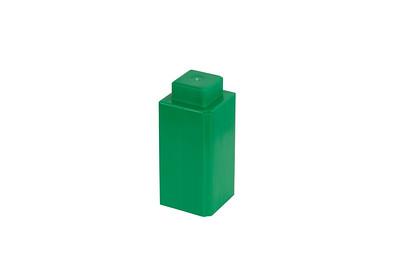 SingleLugBlock-Green
