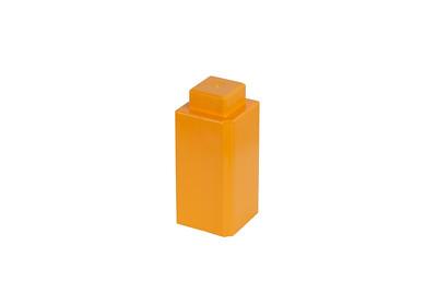 SingleLugBlock-Orange
