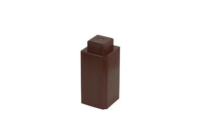 SingleLugBlock-Brown
