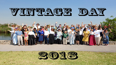 VIDEO clip of: Walk through Vintage Day 2018 (click PLAY !)