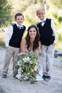 The ring bearers!