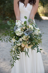 Haley's beautiful bridal bouquet.