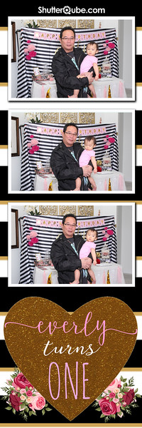 Everly turns one