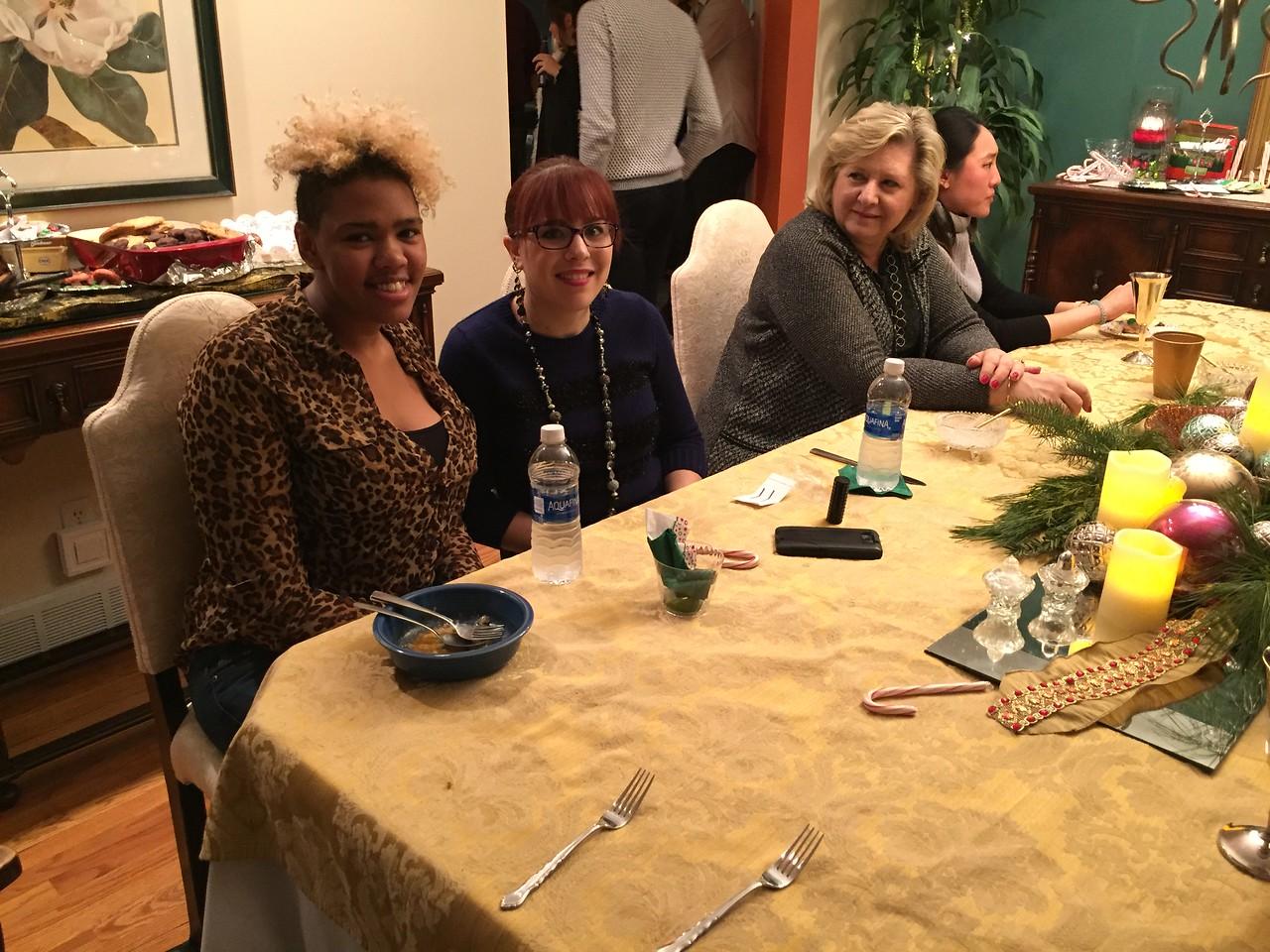 Allison's friend, Jaami Hunter, Allison, Paula and Suzanne