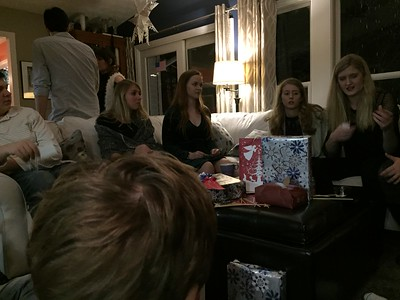 Young cousin gift exchange