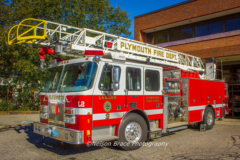 Oct 2016 Ladder 2 Plymouth Fire Dept.