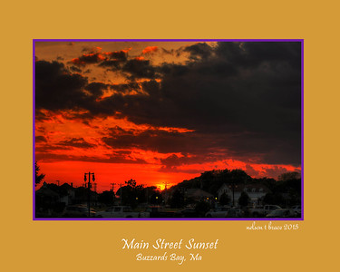 Main Street Sunset