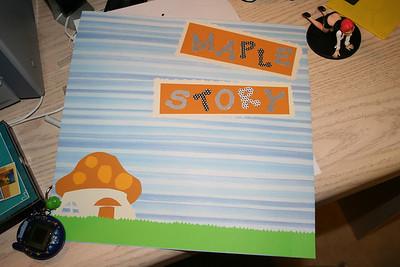 Maple Story Scrapbook