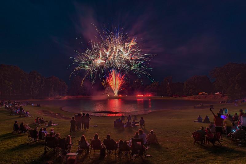 Blueberry Fireworks Show