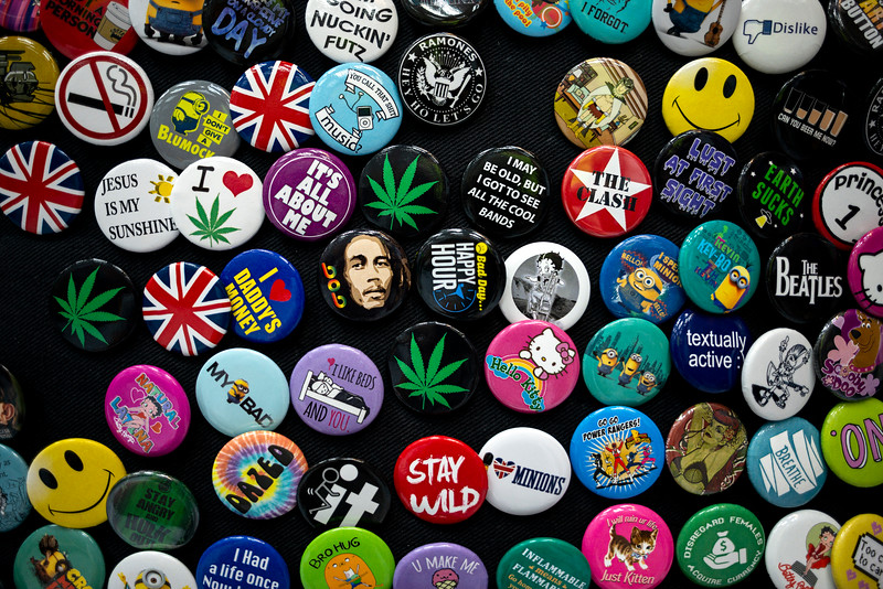 Who Wants A Button
