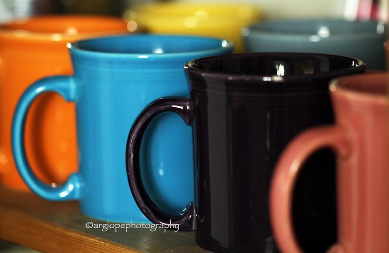Fiestaware mugs