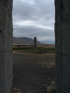 Stonehenge of the West, dedicated to World War I veterans, Washington side of HWY 84.