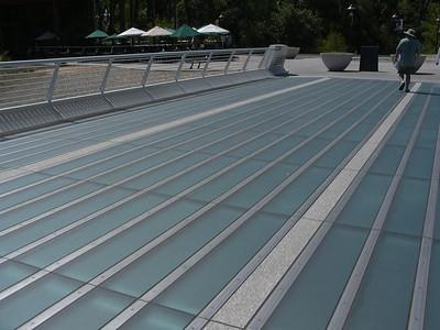 Floor of Sundial Bridge, Redding CA