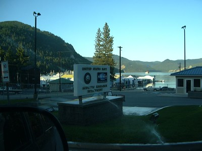 Naval Research Station in Bayview, ID - they have submarines