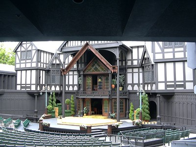 The Elizabethan Theater Stage, Ashland, OR