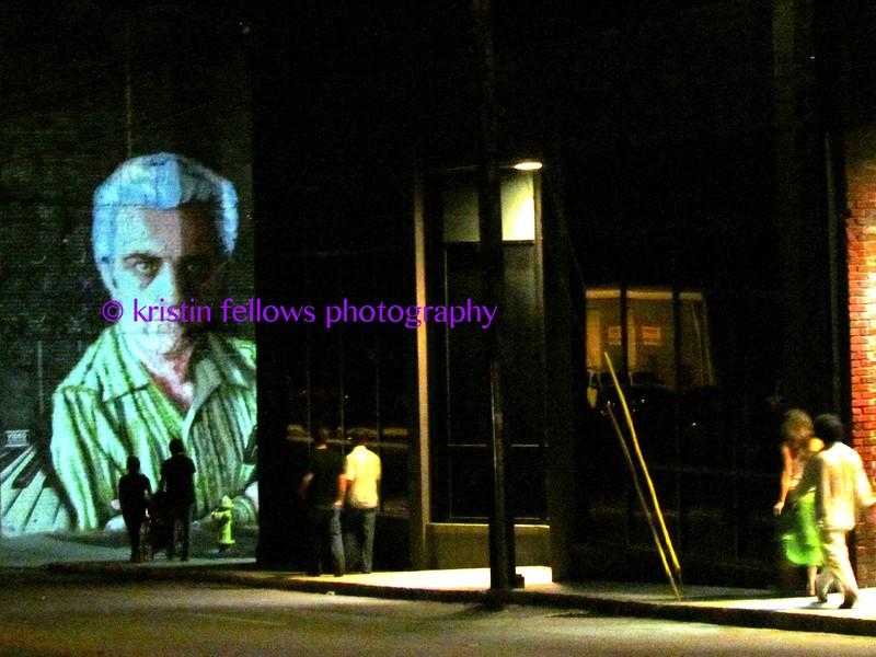 Moog at night
