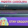 stay groovy north carolina ~ peace